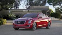 The Cadillac ATS Coupe has an incredibly communicative, well-weighted and responsive steering experience. (General Motors)