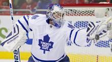 Toronto Maple Leafs goalie James Reimer (USA TODAY Sports)