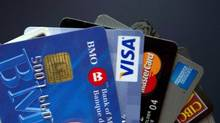 In 2015, credit cards accounted for the majority of transactions at 42 per cent, unchanged from the previous year. (Ryan Remiorz/THE CANADIAN PRESS)