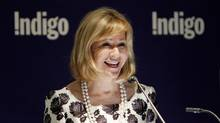 Indigo CEO Heather Reisman addresses shareholders during the 2013 annual general meeting of the company in downtown on Toronto, June 25 2013. (FERNANDO MORALES/THE GLOBE AND MAIL)