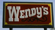 A Wendy's sign is seen in this file photo. (Kiichiro Sato/Associated Press)