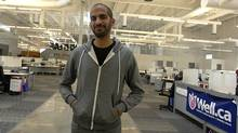 Ali Asaria, founder and chief executive officer of Well.ca (Sheryl Nadler/SHERYL NADLER FOR THE GLOBE AND MAIL)
