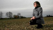 October 27, 2011: NDP MP Niki Ashton poses for a photograph at a farm in Ottawa. (Dave Chan/DAVE CHAN/The Globe and Mail)