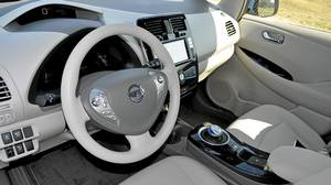 Inside the 2011 Nissan Leaf