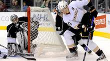 Reigning league MVP Corey Perry accepted Teemu Selanne's spot in the all-star game. (Gus Ruelas/Associated Press/Gus Ruelas/Associated Press)