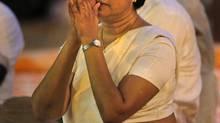 Sri Lankan Chief Justice Shirani Bandaranayake. (ERANGA JAYAWARDENA/ASSOCIATED PRESS)