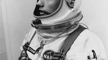 In this March 6, 1966, file photo, astronaut Neil Armstrong is shown. He died on Aug. 25, 2012, at age 82. (AP)