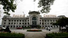 Trains from Vancouver to Seattle will continue to be serviced from Via Rail's Pacific Central Station on Main Street, Vancouver. (Darryl Dyck/ The Canadian Press/Darryl Dyck/ The Canadian Press)
