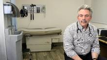 Dr. Mike Franklyn, an addiction physician works at the Rapid Access Addiction Medicine Clinic in Sudbury, Ontario. (Gino Donato/The Globe and Mail)