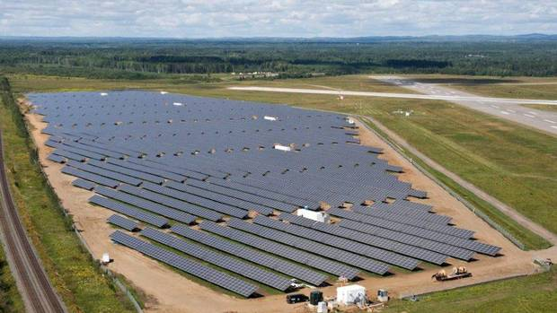 Tariffs on chinese solar panels may hurt canadian for Solar installers canada