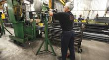 Manufacturing sales declined 0.4 per cent in June. (Deborah Baic/The Globe and Mail)