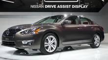2013 Altima (ANDREW BURTON/Nissan)