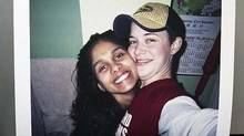 Nicola Puddicombe, left, with Ashleigh Pechaluk in an undated photo. (CTV)