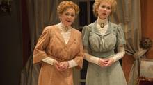 Fiona Reid and Julia Course in The Charity that Began at Home at the Shaw Festival. (David Cooper/Shaw Festival)