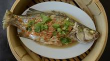 Steamed fish with lime and chile (Fred Lum/The Globe and Mail)