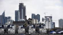 Sales of new condos in the Toronto area last month hit the highest level ever for the month of March. (Fred Lum/The Globe and Mail)
