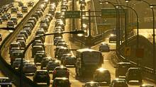 How long does your commute take? Got any tips or shortcut advice? Tell us in the comments section. (Kevin Van Paassen/The Globe and Mail)