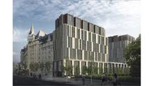 The planned expansion of Ottawa's Château Laurier hotel has drawn criticism. (HANDOUT)