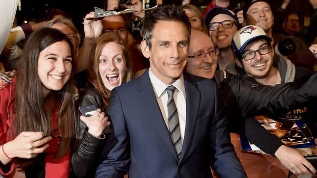 Ben Stiller arrives for a showing of Brad's Status at the Toronto International Film Festival on Saturday, Sept. 9, 2017.