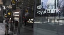 Royal Bank of Canada branch in Toronto (MARK BLINCH/REUTERS)