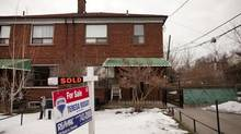 Jody Segal's new Toronto home. Local agents say the market remains fickle. (Moe Doiron/The Globe and Mail)