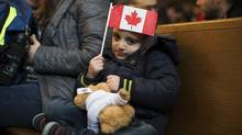 Syrian arrivals such as Andre Babik, 5, will need long-term attention if they're to fully thrive in Canada. (Michelle Siu For The Globe and Mail)