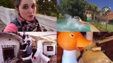A selection of scenes from Otra Semana en Uruguay (Another Week in Uruguay). (YouTube)