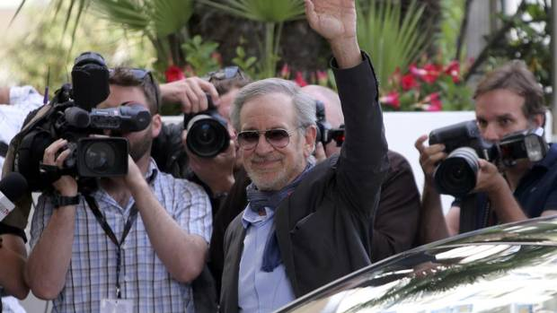 "As The Globe and Mail's Liam Lacey reported from Cannes: ""With Steven Spielberg as jury president, and the festival opening with Baz Luhrmann's glitzy adaptation of The Great Gatsby, this is a distinctly American-flavoured year, with the highest American profile in the competition since 2007."" Here is Spielberg, president of the 66th Cannes Film Festival, arriving at the Grand Hyatt Cannes Hotel Martinez. (Jean-Paul Pelissier/Reuters)"
