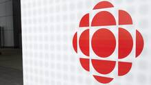 The CBC logo is seen outside the CBC building in Toronto on Wednesday, April 4, 2012. (Nathan Denette/THE CANADIAN PRESS)