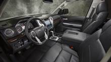 Toyota revamped the interior of its Tacoma truck for 2014. (Toyota)