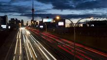 The Canadian Press has learned Ontario Premier Kathleen Wynne will deny the mayor of Toronto's request to impose tolls on two major highways. (Frank Gunn/THE CANADIAN PRESS)