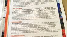 Full-page ad taken out by Marlins owner Jeffrey Loria