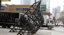 Jed Lind's Ballast offers urban dwellers an image of the past beneath their feet. (Fernando Morales/The Globe and Mail)
