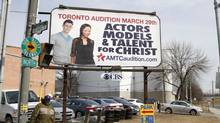 Actors, Models & Talent for Christ is currently holding auditions in North America. (Fernando Morales/The Globe and Mail)