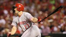 An 11th-round pick in the 2010 amateur draft, Adam Duvall broke into the majors with San Francisco in 2014. (Associated Press (file))