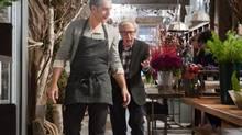 "John Turturro as ""Fioravante"" and Woody Allen as ""Murray"" in Fading Gigolo. (JOJO WHILDEN/Millennium Entertainment.)"