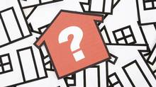 Concept of a house and question mark (Photos.com/Getty Images)