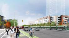 The Ontario government is covering the whole cost of a $1.6-billion light-rail line from Brampton, Ont., to Mississauga. (METROLINX)