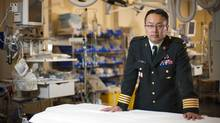 Colonel, trauma physician and military mentor Dr. Homer Tien (©Tim Fraser, 2012)