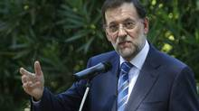 Spain's Prime Minister Mariano Rajoy. (STRINGER/SPAIN/REUTERS)