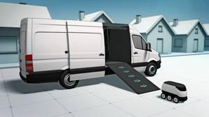 Mercedes-Benz Vans adVANce: solutions@vans, Vans and Robots