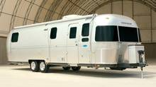 Technical analysis shows Thor Industries, manufacturer of Airstream recreational vehicles, is set to rise.