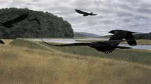 Seven Crows (1980). (ALEX COLVILLE/AC FINE ARTS)