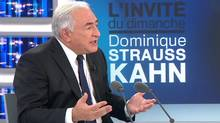 Is the current IMF director a shoo-in against Nicolas Sarkozy? Perhaps (HO/Reuters)