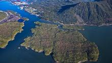 Pacific NorthWest LNG is proposing to build an LNG export terminal on Lelu Island. (www.lonniewishart.com)