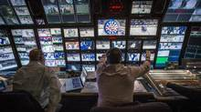 Hockey Night In Canada, produced by Rogers Media, saw a 16-per-cent decline in ratings through late March. (Mark Blinch for The Globe and Mail)