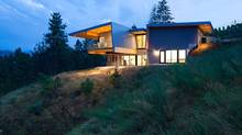 Penticton-area home designed by architect Nick Bevanda. (Ed White/photo)