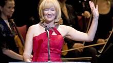 Laureen Harper kicks off the National Arts Centre gala performance in Ottawa on Oct. 3, 2009. (Sean Kilpatrick/The Canadian Press)