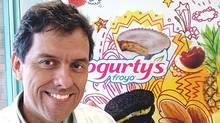 Carlos Eduardo Campo is vice-president of operations with Yogurty's and Yogen Früz.Carlos Eduardo Campo is vice-president of perations with (Carlos Eduardo Campo)