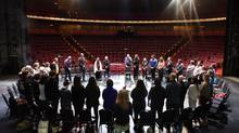 Twenty-eight indigenous artists met with the artistic leaders at the NAC in February to talk about developing an Indigenous Theatre Department. (Fred Cattroll)